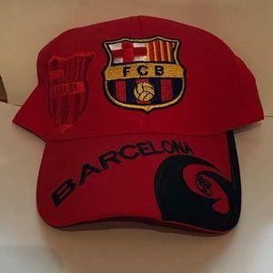 Barcelona fútbol club adjustable hat
